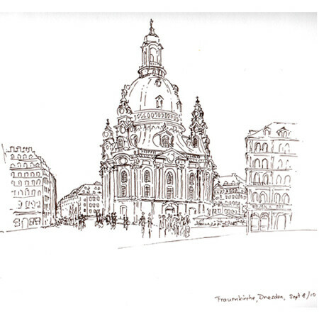 Frauenkirche sketch