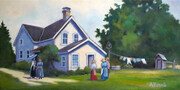 """Jury Farmhouse, Fanshawe Pioneer Village"""