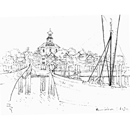 Province Town sketch