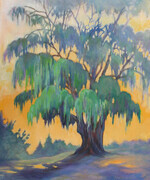 Tree in Gibbons Park - Oil - 24x20