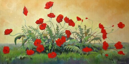 """Windblown Poppies"" sold"